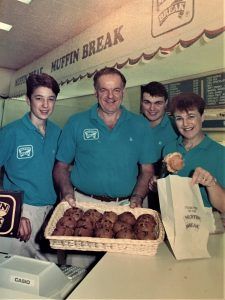 Cafe #1 Muffin Break Coolangatta 1989