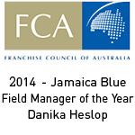 JB – 2014 FCA Danika Heslop