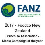 NZ – 2017 Foodco Media Award
